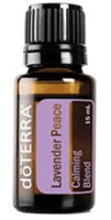 lavender peace serenity calming blend of essential oils